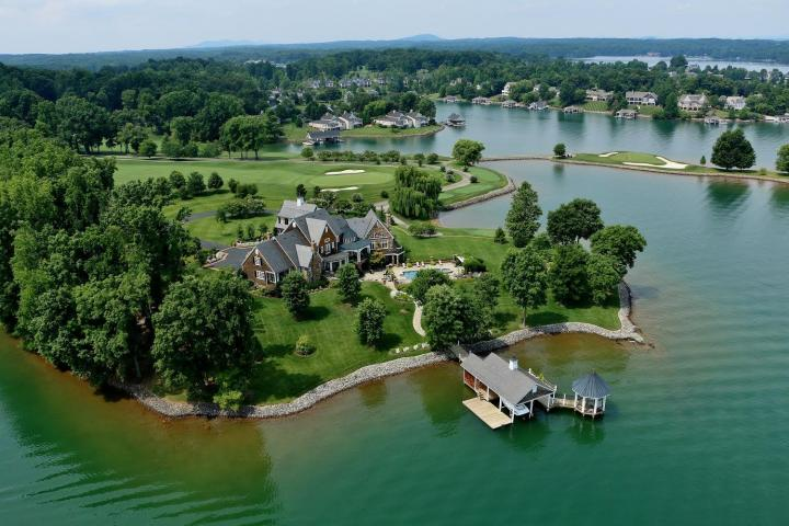 Featured Waterfront Home