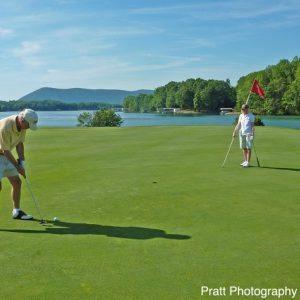 Smith Mountain Lake Golfing