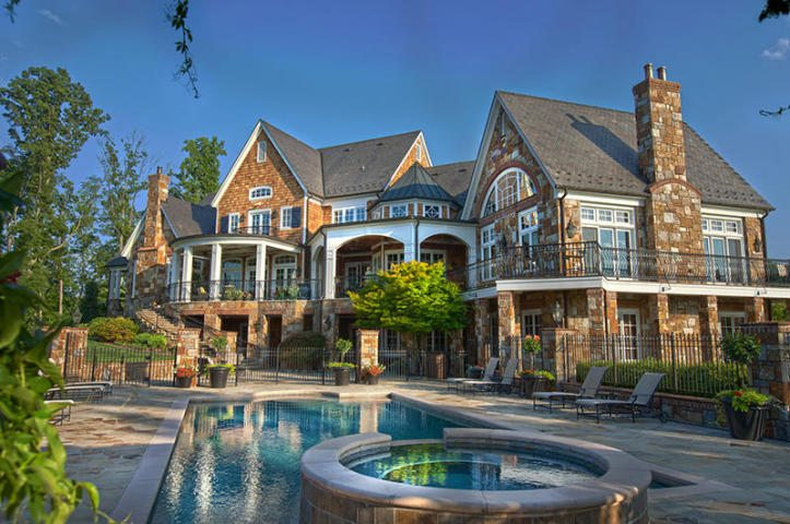 Unbelievable Custom Home In The Water S Edge Community Of
