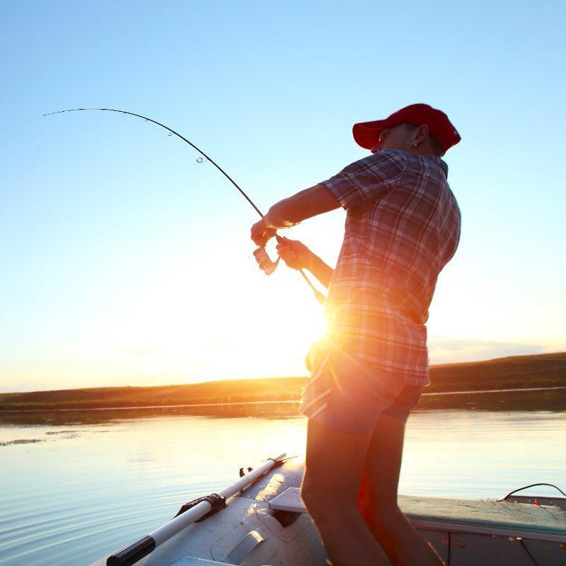 Smith Mountain Lake fishing